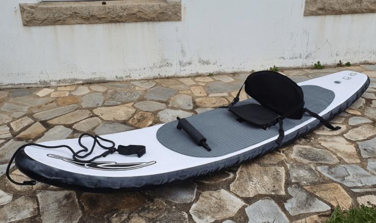 comment gonfler un paddle gonflable