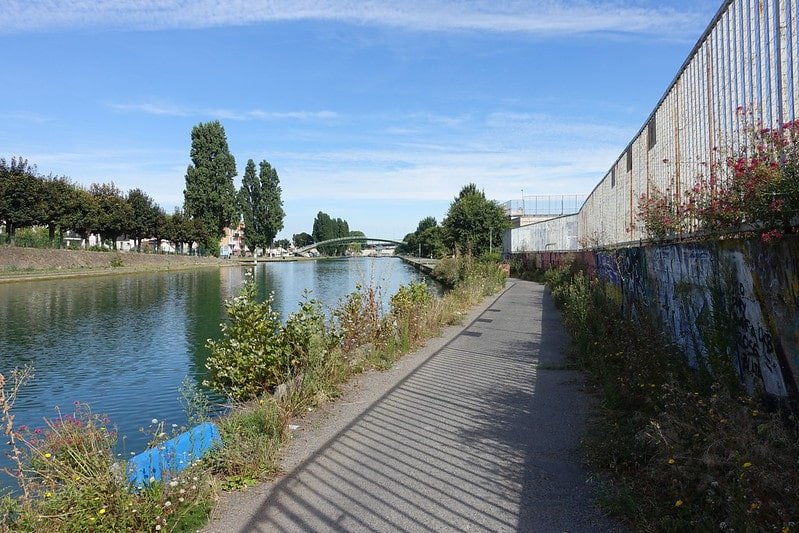 paddle canal saint denis aubervilliers