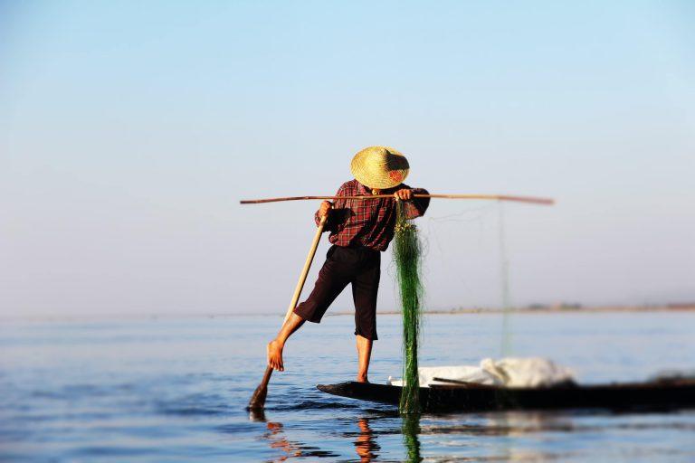 équilibre avec style paddle
